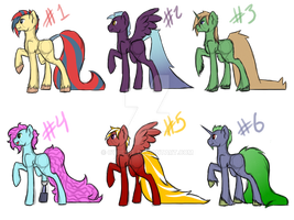 Dat Tail Adoptables Auction - .:CLOSED:. by Cybiline