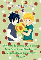 Flowers for you - cover by canary-309