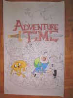 Adventure Time Poster by Rose-Emblum