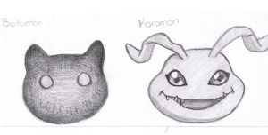 Baby Digimons ^^ by Phaniegrr