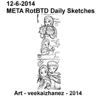 META RotBTD 2014 Daily Sketch 6-12 by veekaizhanez