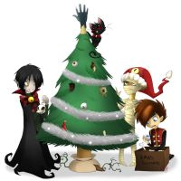 Scary Christmas by MarticusProductions