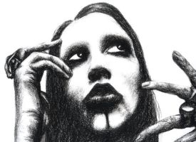 manson charcoal2 by sugarkoma