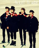 Ticket to ride... the beatles by AmErIk