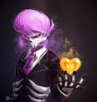 [Mystery Skulls] Ghost. by ProtoRC