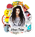 ID // Keep Calm - Lorde \\ by ItsOnlyNora