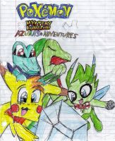 Pokemon Mystery dungeon fanfic by AshuraTheHedgehog199