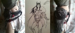 Lady Sif - own design first update by Gekroent