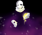 Outertale Gaster by Shinachi