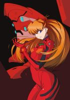 asuka by zedeki-arts