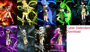 Cyber Defenders + Download Taken down for now by SnowLillyYukino