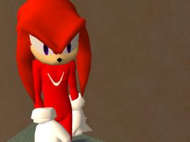 TS2 Knuckles The Echidna DOWNLOADABLE by KindGenius