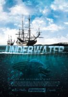 Underwater - Movie Poster by VectorMediaGR