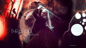 Thranduil wallpaper 03 by HappinessIsMusic