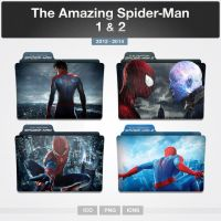 The Amazing Spider Man 1 and 2 (Folder Icon) by limav