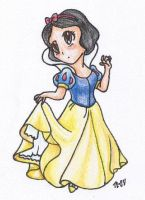Chibi Snow White by Tesslar