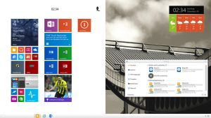 The Windows 8.1.2 Desktop by Joergermeister