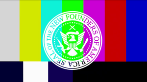 New Founding Fathers of America - TV Colour Bars by New-Founding-Fathers