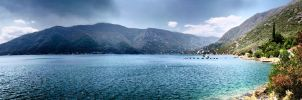 Panoramic Seaside by Damir-Olejar
