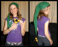 Link Hat in Action by Painter-Papillon