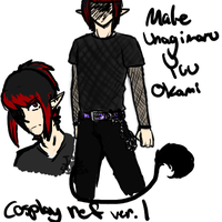 male yuu cosplay ref 1 by IKArtStudios