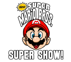 New Super Mario Bros. Super Show Logo by KingAsylus91