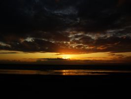 Beach Sunset 10 -- Sept 2009 by pricecw-stock