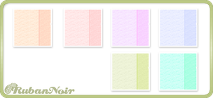 Pastel Double Stripes Pattern by Lady-Himiko