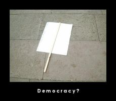 Democracy by abraxus