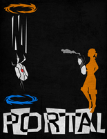 Retro Portal Cover by Starflier