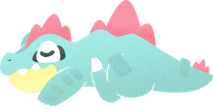 Chubby Sleepy Gatr by sugarstitch