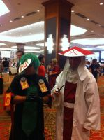 Sync and Hokage(AFest 2014 GIF) by Hound-02