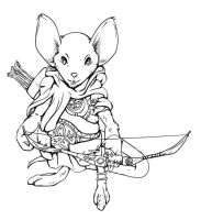 Archer mouse by Hector-Blanco