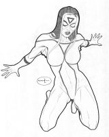 Spiderwoman by Roadkill-Catthouse