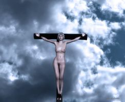 Queen On Cross2 by passionofagoddess