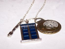 Doctor Who Inspired Necklace by setosora77