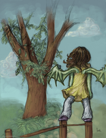 Eme and the Fading Tree by ForeverSoaring