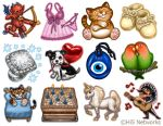 Hi5 Gift Icons 1 by feliciacano