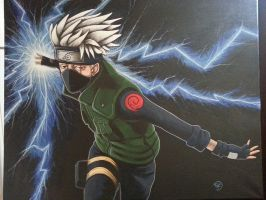 Hatake Kakashi : New Painting. by The-Dreaming-Dragon