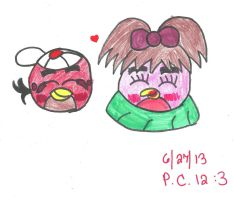 RQ- Love of Pink and Red Colors by AngieTheCatGuardian