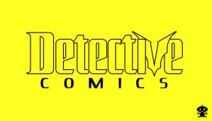 1987 Detective Comics Title Logo by HappyBirthdayRoboto