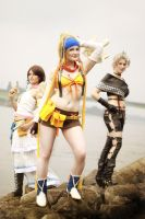 Final Fantasy - Gullwings by aco-rea