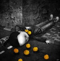 orange thief died by berkozturk