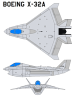 Boeing X-32A by bagera3005