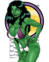 She-Hulk by Garrett Blair by olo45