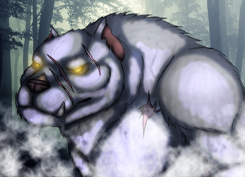The White Wolf of Skyrim by The-Linkinator
