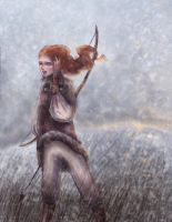 Ygritte the wildling. by ThereseOfTheNorth