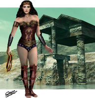 Warrior Princess of Themyscira by Ciro1984