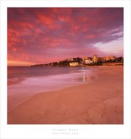 Coogee Beach Dawn 6x6 by MattLauder