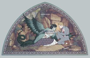Saint George and the Dragon by karadin